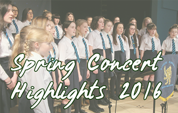 Spring Concert Highlights 2016