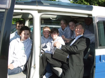 Pupils-in-Van