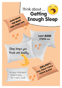5. Getting enough sleep