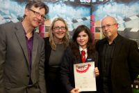 Lucy Year 14 3rd in Northern Ireland in Moving Image Arts AS