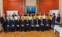 Bangor Academy receives Confucius Hub plaque at Stormont