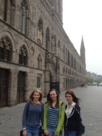 We have spent this morning at In Flanders Fields Museum. Lots of moving and powerful images of the First World War.