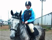 Congratulations to Jordana who made her Show Jumping debut for Bangor Academy