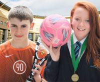 Bangor Academy celebrates Tennis and Netball success