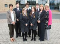 Bangor Academy students celebrate selection for Queen's University Academy