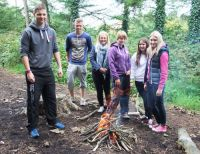 Sixth Form Bush craft activities