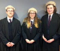 Living Law students adjourn to Chambers