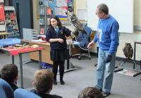 A visit from 'The Owl Man'