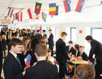 Bangor Academy pupils mark Europe Day 2014