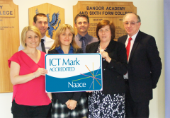 Bangor Academy gains prestigious ICT Mark Award