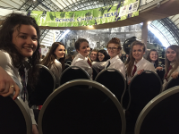 Making the Heats -BBC Radio Ulster School Choir of the Year 2016
