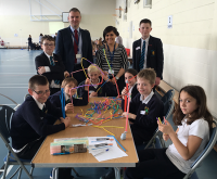 Year 8 Maths Whizzes Mentor Central Primary 6 Pupils
