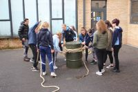 The Royal Engineers STEM Engagement team visited the Academy this week.