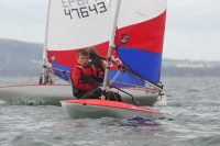Oliver sails into RYA Topper Squad