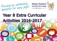 Extra Curricular Activities 2016-2017