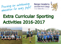 Extra-Curricular Sporting Activities 2016-2017