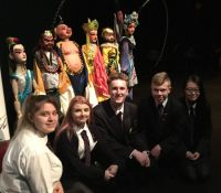 Chinese New Year celebration at the Belfast Mac Theatre.