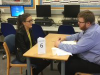 Local Employers Help Fine Tune Year 12's Interview Skills