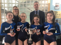 Bangor Academy Brings Home the British U 14 Trampolining Trophy