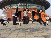 China trip students