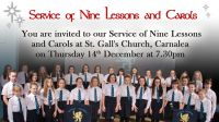 Service of Nine Lessons  and Carols