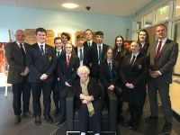 History students were enthralled by Holocaust survivor, Joanna Millan's testimony at Bangor Academy today