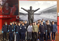 Academy's Football Fanatics' enjoy dream Liverpool trip.