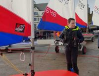Recognition for a promising young sailor!