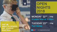 Open Nights 2018