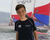 Super Sailor Oliver is off to China for the Topper Worlds