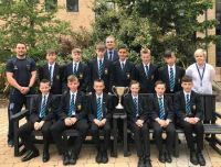 Meet the latest North Down Secondary Schools' Football League Champions – Bangor Academy's Year 8 team.