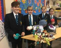 Knitting for Hollie raises £200