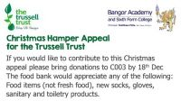 Christmas Hamper Appeal for the Trussell Trust