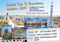 School trip to Barcelona