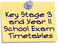 Key Stage 3 and Year 11 Summer Exams