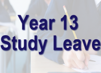 Year 13 Study Leave